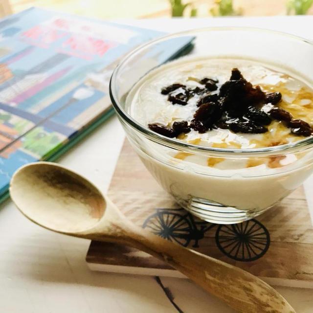手作り豆乳ヨーグルト☆美味しいグラノーラ