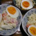 キャベツのポテトサラダ(ゴマドレ入り)