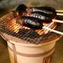 寒くなったら直火でしょー。【茄子の丸ごと焼き】