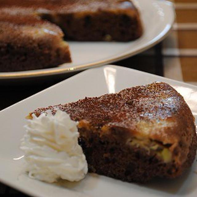 ホットケーキミックス×炊飯器で チョコチップ バナナケーキ ☆