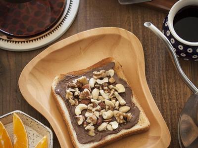 >ナッツ好きにはたまらない、ヌテラで簡単おいしい朝ごはん♪ by さくちゃんさん