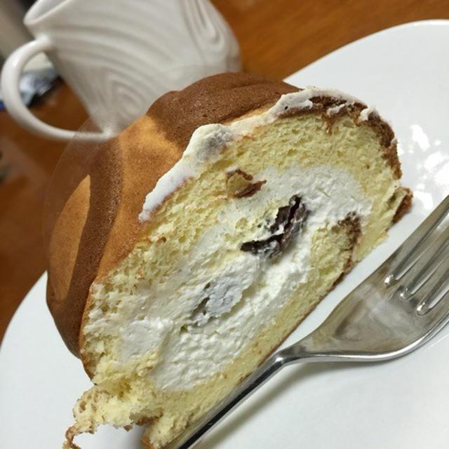 栗のロールケーキ ( [GRAMERCY ] NEWYORK )