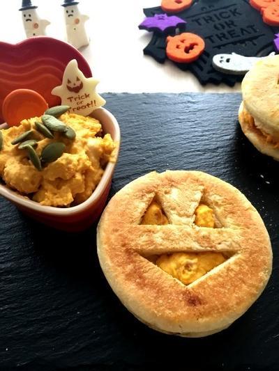 マスカルポーネとかぼちゃのパテ ハロウィンですね♪