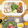 今晩はお鍋〜( ⸝⸝•ᴗ•⸝⸝ )♪鶏の旨味たっぷり水炊き鍋