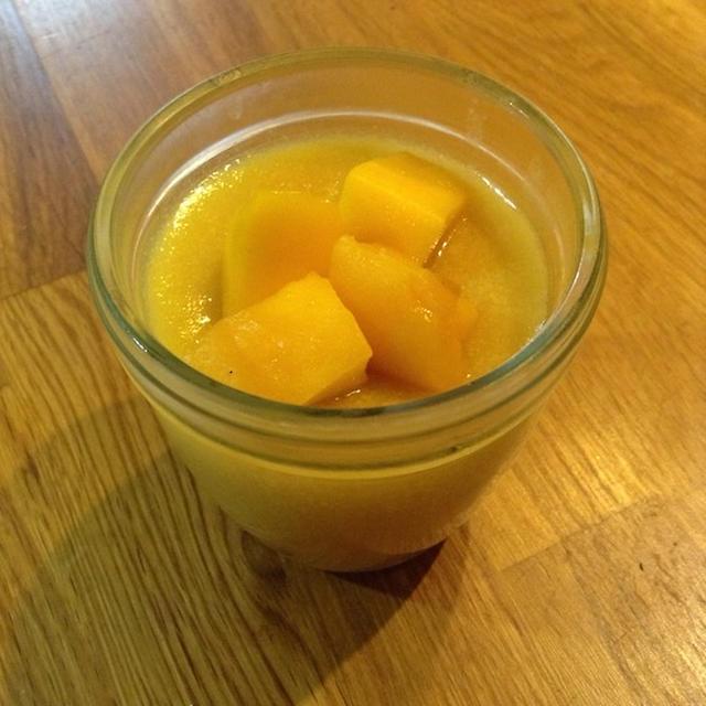 沖縄気分でマンゴーを使う 「マンゴーゼリー」