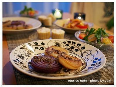 北欧食器×作家さんの器で野菜を美味しく楽しむ食卓。