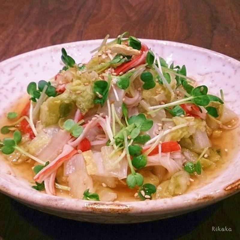 こんな食べ方もあり!白菜を使った簡単ホットサラダ