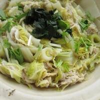 豚肉と白菜のミルフィーユ鍋(ちゃんこ味)
