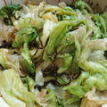 茹でたレタスで!やみつき塩昆布ナムル。塩昆布なしの韓国人気レシピも
