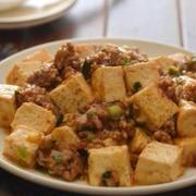 しみしみ麻婆豆腐。(焼き豆腐で時短・辛さ調節は簡単に)