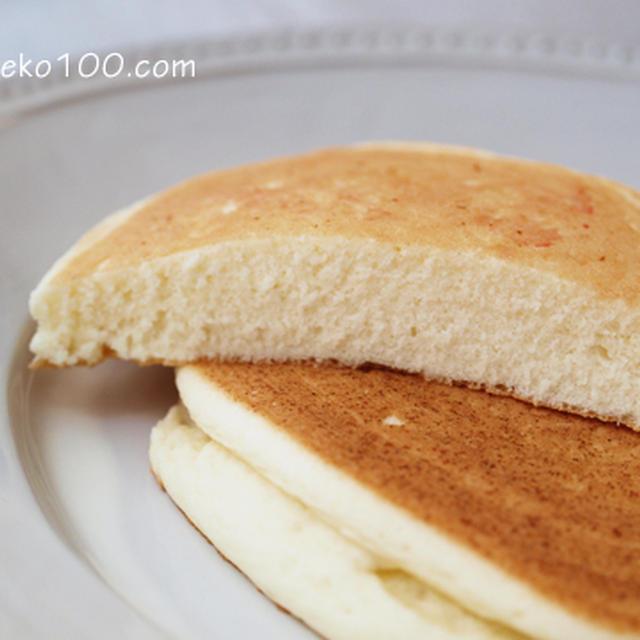 ふんわり米粉パンケーキ ~小麦・卵・乳製品なし