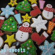 クリスマスに☆アイシングクッキー