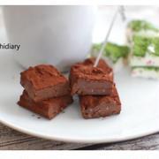 【超簡単 バレンタイン】話題の豆腐で作るのに美味しい生チョコ
