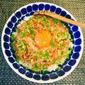 簡単!朝食やランチに*アレでコクうま!ピリ辛ツナ納豆丼