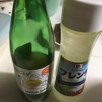青梗菜とエノキのフレンチドレッシングホットサラダ