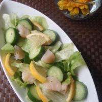 【埼玉県きゅうりモニター】ホタテとレモンの春サラダ