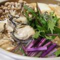 カラダがぽかぽか♡牡蠣の土手鍋 by とまとママさん