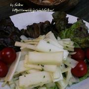 ◆ウドのサラダでおうちごはん♪~ゆるやか糖質制限中♪