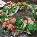 アボガドと海老のディップサラダ
