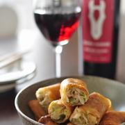 ねぎだく豚のジューシー春巻き【おうちでワイン】のお勧め#おうちバルを楽しもう#ダークホース