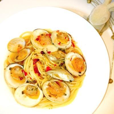 ボンゴレ(ホンビノス)スープ多め