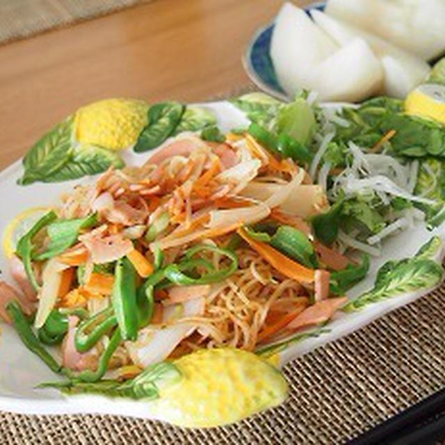 ■メニュー■コロッケ、秋刀魚のお刺身、薩摩芋豚汁、ピーマンの塩昆布和え*9月11日