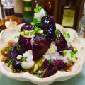 【レシピ】レンジで簡単♬茄子のみぞれ煮浸し♬