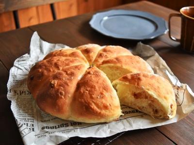 【重版9刷目】【30分・魔法のパン】フライドオニオンブレッド〜ちぎりパン〜
