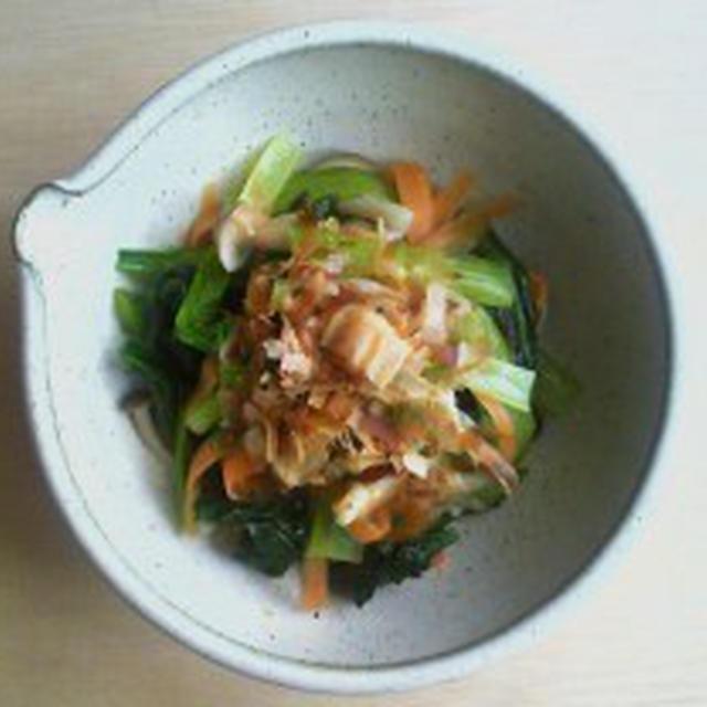 一日一品江戸料理―314「小松菜お浸し」