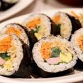 おうち韓国料理♪具だくさん『野菜キンパ』のレシピ*