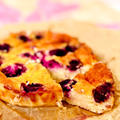 カマンベールとヨーグルトでブルーベリーチーズケーキ♡