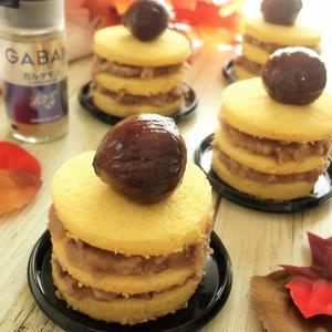 薩摩芋と栗のネイキッドケーキ