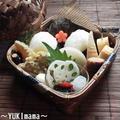 豚バラロールinさつま芋のお弁当