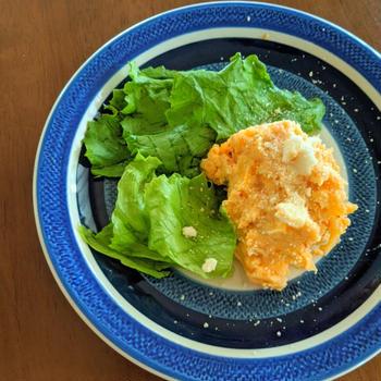 レシピあり♪ ひんやりおつまみレシピ キムチポテトサラダ♪ 生きて乳酸菌を腸に届けよう