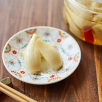 【少量で手作り】らっきょうの甘酢漬け