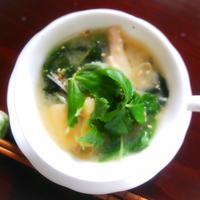サラダ風味噌スープ♪