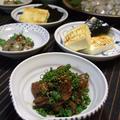 サヨリのにぎり寿司と魅惑の酒の肴たち♪