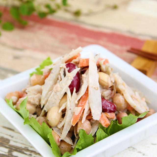 簡単美味しく♪『腸美人サラダ』