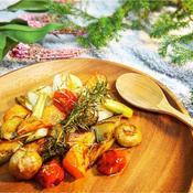 栄養お野菜のローズマリーコンフィ