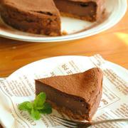 濃厚ココア チーズケーキ ☆