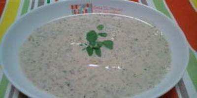 じゃがいもとクレソンのスープ