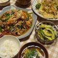 野菜がメインの食卓♪ by saoriさん