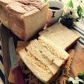 タマゴサンドが食べたくて。角食パン♪