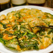 【レシピ】ニラとじゃがいものチーズチヂミ
