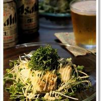 キレの良いビールにピッタリ♪鱈のムニエル香味野菜添え