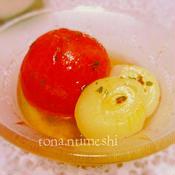 ハーブ香る冷え冷えトマト