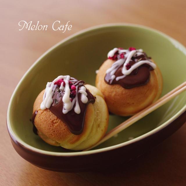 ホットケーキミックス(HM)でつくる、おもしろスイーツ「ホットたこ焼きケーキ」☆スパイスでお料理上手vol.48 ハッピーに楽しもう♪手作りバレンタイン(その2)