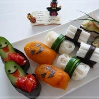 ハロウィン野菜寿司