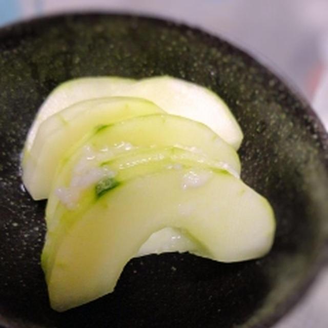 加賀太きゅうりの塩麹浅漬