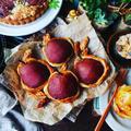 もうやめて(汗)と、自家製コンポートで丸ごと洋梨パイ2種ると洋梨のクランブルタルト❤️